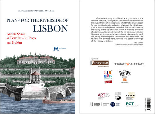 Plans for the Riverside of Lisbon. Ancient Quays at Terreiro do Paço and Belém